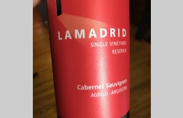 Lamadrid Single Vineyard Reserva Cabernet Sauvignon