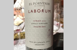 Laborum Syrah Single Vineyard Finca Rio Seco