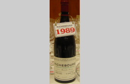 Richebourg 1989