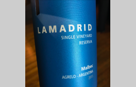 Lamadrid Single Vineyard Reserva Malbec