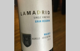 Lamadrid Single Vineyard Gran Reserva Malbec