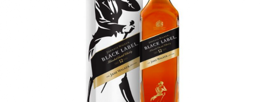 JOHNNIE WALKER lança versão feminina do black label