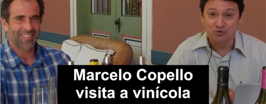 Marcelo Copello visita a vinícola SANTA RITA - ChileARESTI Chile